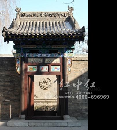中式超市 古建房屋      中国传统民居具有浓郁的中国传统文化特点
