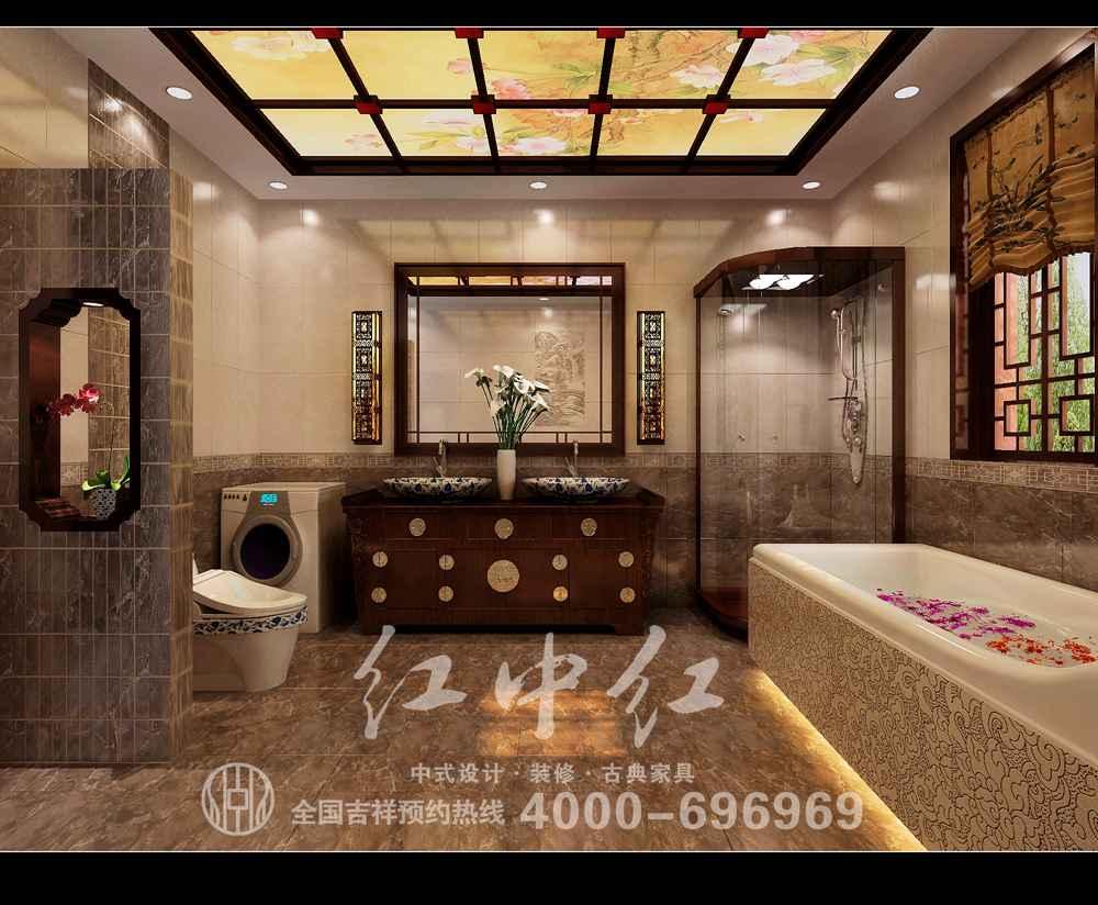 上海私人会所设计效果图——端庄风华