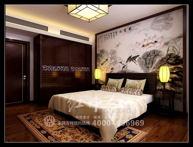 室内装修效果图大全红木家床
