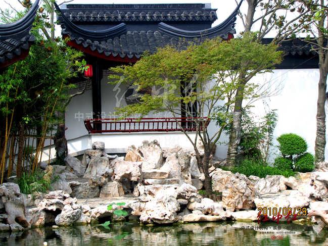 中式景观庭院案例欣赏-古朴清旷